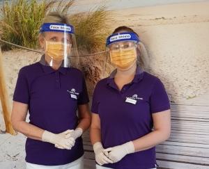 Wir schützen Sie und uns vor einer Coronainfektion